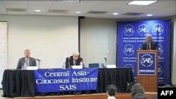 Johns Hopkins Universitetində Qafqazdakı siyasi duruma dair forum keçirildi (video)