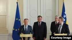Donald Tusk i BH Predsjedništvo, Sarajevo 26.04.2018.