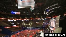 En images : les préparatifs de la Convention républicaine 2016 à Cleveland