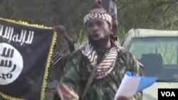 Shugaban 'yan kungiyar Boko Haram Abubakar Shekau, Oktoba 2, 2014.