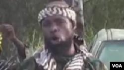 Shugaban 'yan kungiyar Boko Haram Abubakar Shekau,