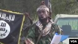 A gauce, le drapeau noir des islamistes nigérians de Boko Haram