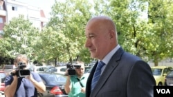 FILE - Montenegro Special Prosecutor Milivoje Katnic wants immunity lifted from two pro-Russian opposition leaders charged in an alleged sedition plot.