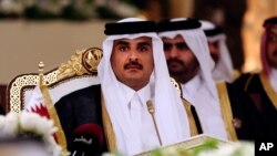 شیخ تمیم بن حمد آل ثانی امیر قطر - آرشیو