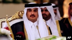 SarkinQatar Emir Sheikh Tamim bin Hamad Al-Thani