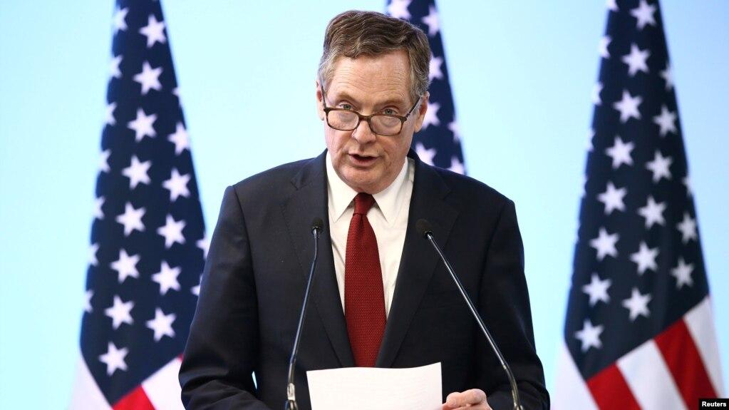 El representante comercial de EE.UU., Robert Lighthizer, anunció nuevos aranceles comerciales a productos chinos.