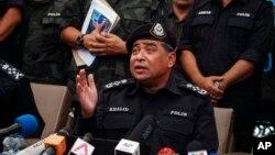 پولیس کے سربراہ خالد ابوبکر (فائل فوٹو)