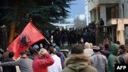 Prošlomesečni protesti u Albaniji