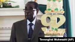 Zimbabwe President Robert Mugabe At His 92nd Birthday