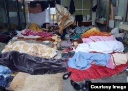 Migranti u Tuzli (Fotografija preuzeta od BIRN BiH)
