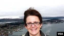 Menteri Perikanan Norwegia, Lisbeth Berg-Hansen.