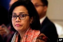 Menteri Keuangan Sri Mulyani. (Foto: AP/dok)