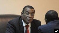 Pascal Affi Nguessan, le chef du parti de l'ex-président ivoirien Laurent Gbagbo présentement jugé à la CPI, le Front Populaire Ivoirien (FPI)