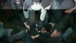 حمله پليس بلاروس به تظاهرات آرام مردم