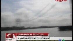 2011-11-28 粵語新聞: 印尼橋樑坍塌﹐11人死30人失蹤