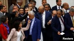 Les pro-kurdes du parti d'opposition HDP à Ankara, en Turquie, le 20 mai 2016.