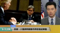 VOA连线(黄耀毅):白宫:川普律师要禁书并非言论审查
