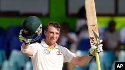 澳大利亞板球手菲爾.休斯(資料圖片)