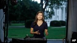 CNN televizyonu muhabirlerinden Kaitlan Collins
