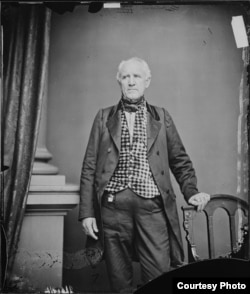 Sam Houston, photograph by Mathew Brady, c.1860-1863