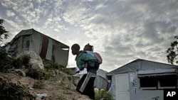海地仍從去年地震艱難中恢復過來。