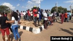 Zanga Zangar kin jinin SARS a Jos