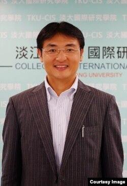台湾淡江大学日本政经研究所教授徐浤馨(照片提供: 淡江大学)