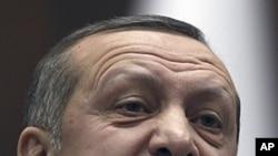图为土耳其总理埃尔多安1月24日资料照