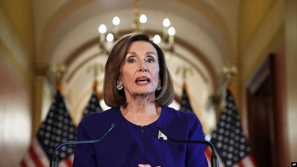 Nancy Pelosi tuyên bố chính thức điều tra luận tội ông Trump