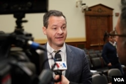 Jared Genser, lawyer for Iranian-American Babak Namazi, speaks to VOA Persian ahead of a March 7, 2019, House Foreign Affairs subcommittee hearing in which Namazi testified about his father and brother, detained in Iran since 2016 and 2015, respectively.