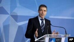 Tổng thư ký NATO Anders Fogh Rasmussen.