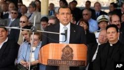 President of Honduras Porfirio Lobo.
