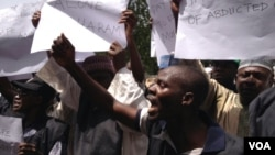 Протест проти викрадення дівчат у Нігерії