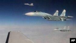 Aviones de guerra rusos se han aproximado a California y patrullado alrededor de las islas Guam, territorio de EE.UU. en el Pacífico.