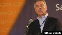 Crnogorski premijer Milo Đukanović (rtcg.me)