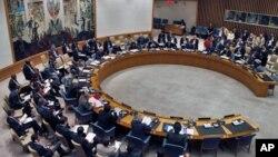 지난 7월 유엔 안보리 회의장. (자료사진)
