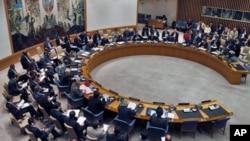 지난 7월 21일 뉴욕 유엔 본부의 유엔 안보리 회의장. (자료사진)
