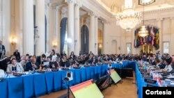 Se logran 19 votos a favor, cuatro en contra y 11 abstenciones sobre resolución de Venezuela.