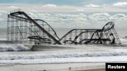 Sandy, son dönemde Amerika'nın kuzeybatı kıyılarını vuran en şiddetli fırtınalardan biriydi