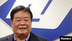 中国玻璃制造商福耀集团董事长曹德旺