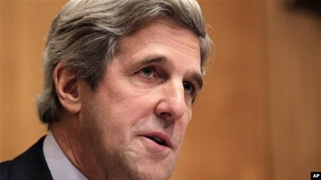 Senate Foreign Relations Committee Chairman Sen. John Kerry (file photo)