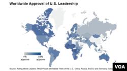 Worldwide Approval of U.S. Leadership