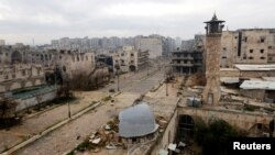 ဆီးရီးယား Aleppo ၿမိဳ႕။