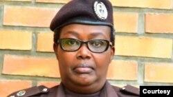 Uwera Pely Gakwaya umuvugizi w'Urwego rushinzwe Imfungwa n'Abagororwa mu Rwanda