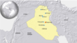 Iraq cities: Mosul, Tikrit, Beiji, Kirkuk, Karbala, Fallujah, Baghdad
