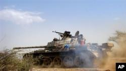 یمن میں فوج کا پہرہ