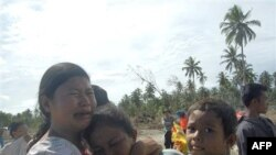 Những người sống sót sau thiên tai sóng thần