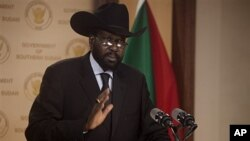 Salva Kiir Mayardit, the President of the Government of Southern Sudan, February 8, 2011 (file photo)