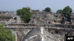 Ngôi đền Preah Vihear của Campuchia có từ 900 năm nay