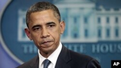 奥巴马总统7月19日在白宫记者会上谈美国预算问题
